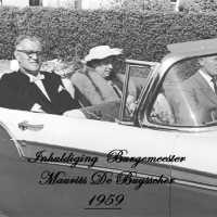 <strong>Inhuldiging Burgemeester Maurits De Buysscher  -  1959</strong><br> ©Herzele in Beeld<br><br><a href='https://www.herzeleinbeeld.be/Foto/1389/Inhuldiging-Burgemeester-Maurits-De-Buysscher-----1959'><u>Meer info over de foto</u></a>