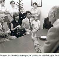 <strong>Politiek Herzele </strong><br>01-01-1960 ©Herzele in Beeld<br><br><a href='https://www.herzeleinbeeld.be/Foto/1413/Politiek-Herzele-'><u>Meer info over de foto</u></a>