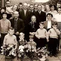 <strong>Gouden bruiloften  -  1975 + 76</strong><br>1960 ©Herzele in Beeld<br><br><a href='https://www.herzeleinbeeld.be/Foto/2001/Gouden-bruiloften-----1975-+-76'><u>Meer info over de foto</u></a>