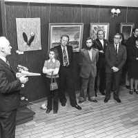 <strong>Kunstschilder Georges Muys - Tentoonstellingen  1973 & 1975</strong><br>01-01-1975 ©Herzele in Beeld<br><br><a href='https://www.herzeleinbeeld.be/Foto/2058/Kunstschilder-Georges-Muys---Tentoonstellingen--1973-&-1975'><u>Meer info over de foto</u></a>