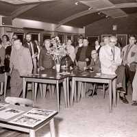 <strong>Kunstschilder Georges Muys - Tentoonstellingen  1973 & 1975</strong><br>01-01-1975 ©Herzele in Beeld<br><br><a href='https://www.herzeleinbeeld.be/Foto/2061/Kunstschilder-Georges-Muys---Tentoonstellingen--1973-&-1975'><u>Meer info over de foto</u></a>