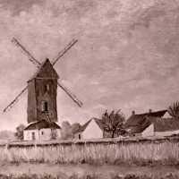 <strong>Kunstschilder Michel Vergucht stelt tentoon  -  1975</strong><br> ©Herzele in Beeld<br><br><a href='https://www.herzeleinbeeld.be/Foto/2154/Kunstschilder-Michel-Vergucht-stelt-tentoon-----1975'><u>Meer info over de foto</u></a>