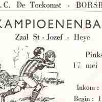 <strong>Carriére Rik Van Boven - Keeper DT Toekomst Borsbeke  (Periode 1964-1970)</strong><br> ©Herzele in Beeld<br><br><a href='https://www.herzeleinbeeld.be/Foto/2324/Carriére-Rik-Van-Boven---Keeper-DT-Toekomst-Borsbeke--(Periode-1964-1970)'><u>Meer info over de foto</u></a>